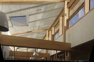 Bushbury Passivhaus School, Winter sun