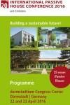 Darmstadt Passivhaus Conference