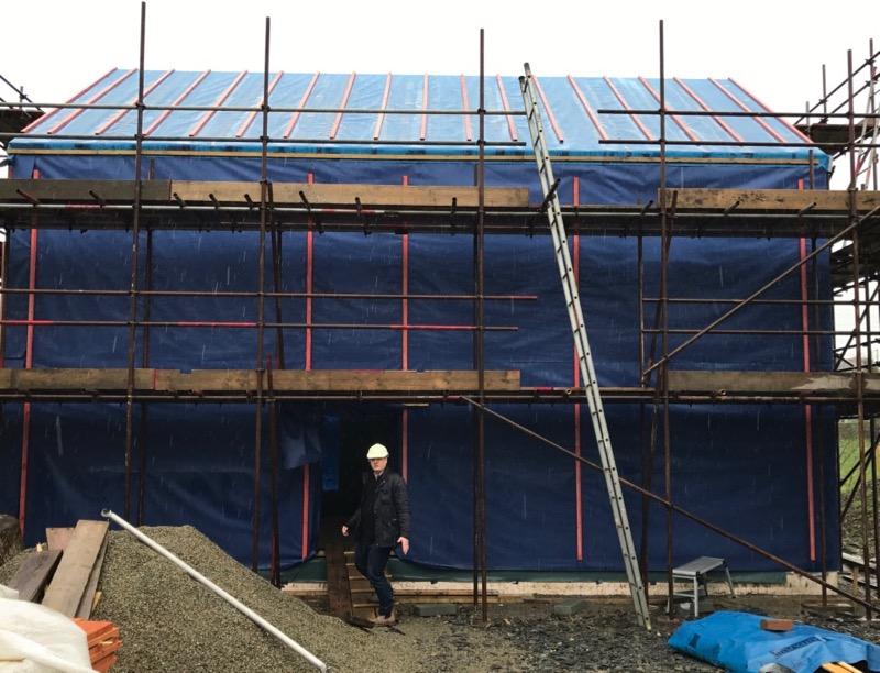 Budget passivhaus owner built