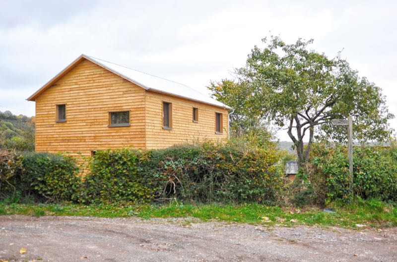 vowchurch timber low cost passivhaus