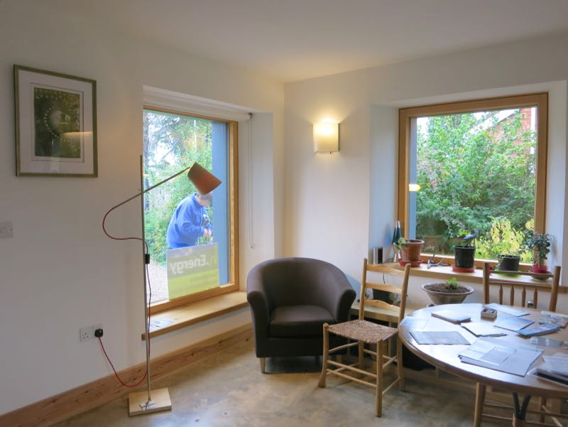 Locklamp lighting passivhaus