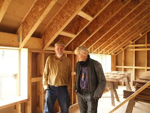Timber frame passivhaus Mike Whitfield Construction