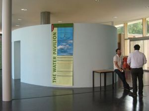 eco minimal Water Pavilion at the Genesis Centre Taunton