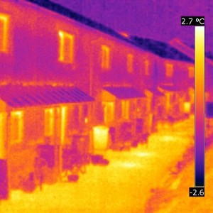 Lancaster Co-Housing thermography as part of the passivhaus consultancy