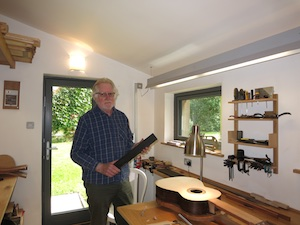 Passivhaus inspired guitar workshop
