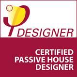 certified passivhaus designer logo