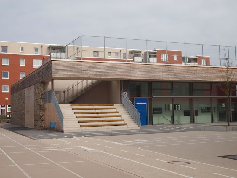 Passivhaus sports hall