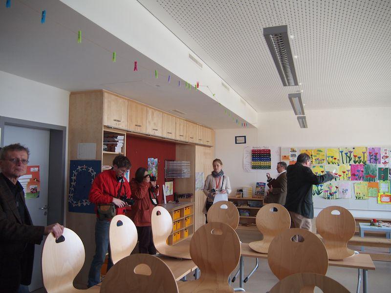 Passivhaus classroom
