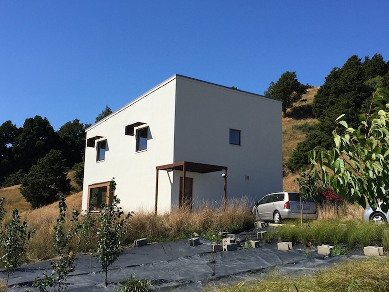 ICF passivhaus in New Zealand
