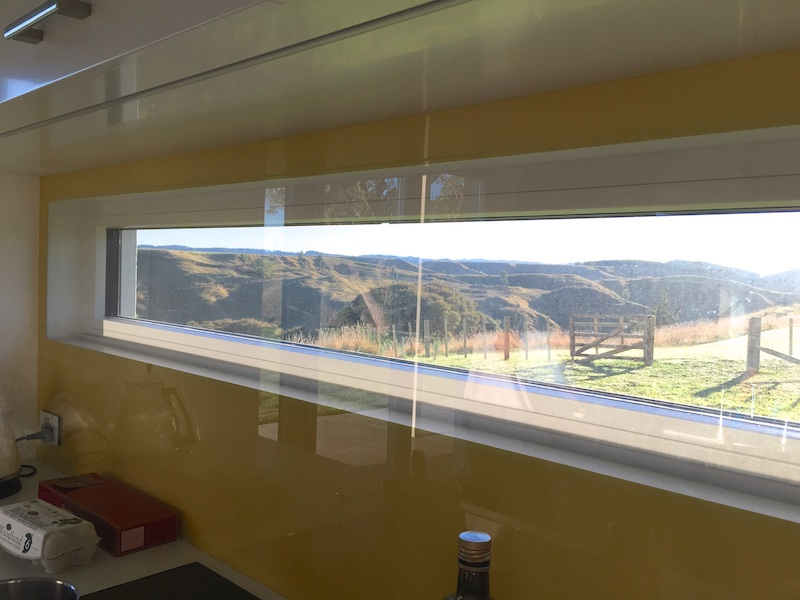 kitchen window New Zealand Passive House