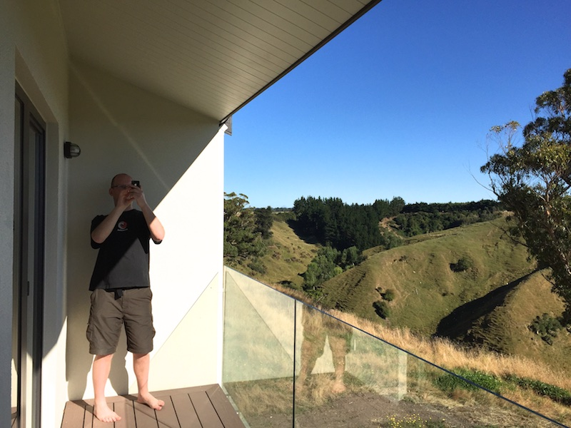 passivhaus balcony shading New Zealand