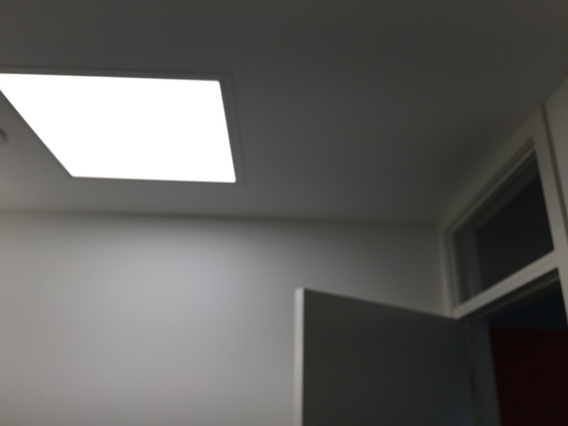 LED skylight in Whanganui passivhaus