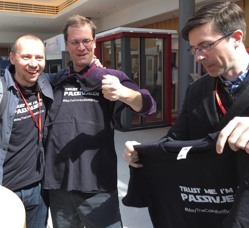 passivhaus t shirts