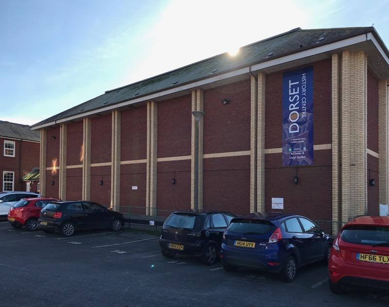Dorset History Centre Archive Store