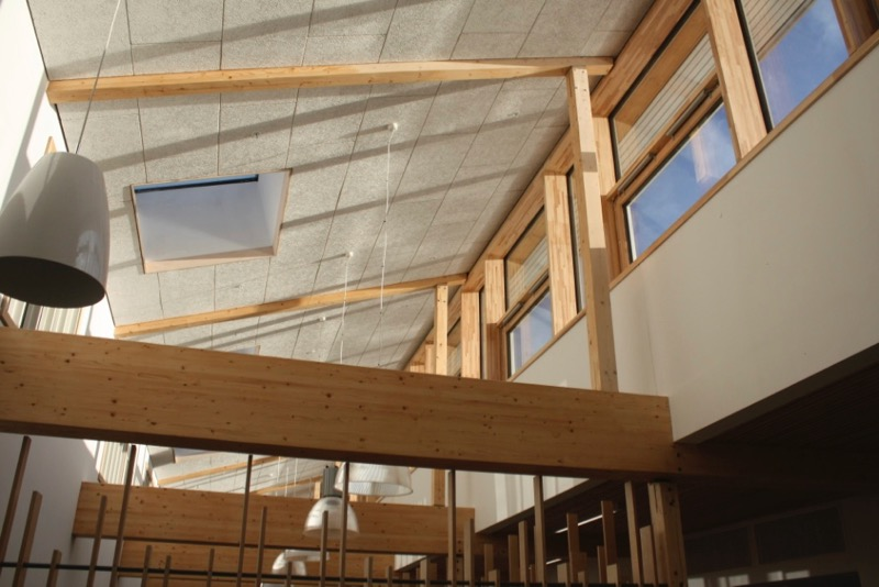 Passivhaus school interior