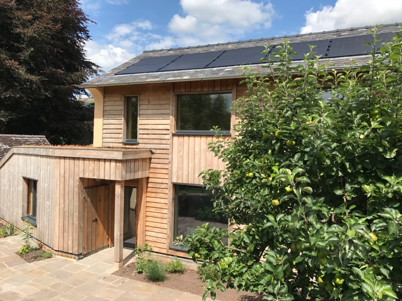 Eco-home projects to Passivhaus and AECB Energy StandardElemental