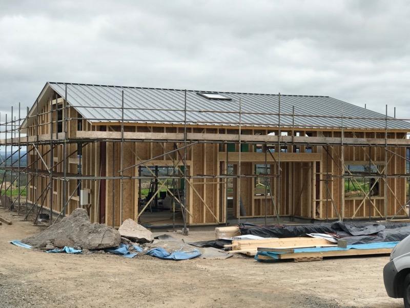 steel barn low energy conversion