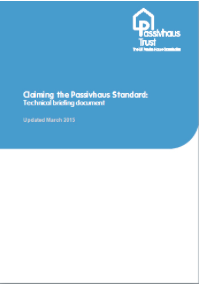 Claiming the passivhaus standard