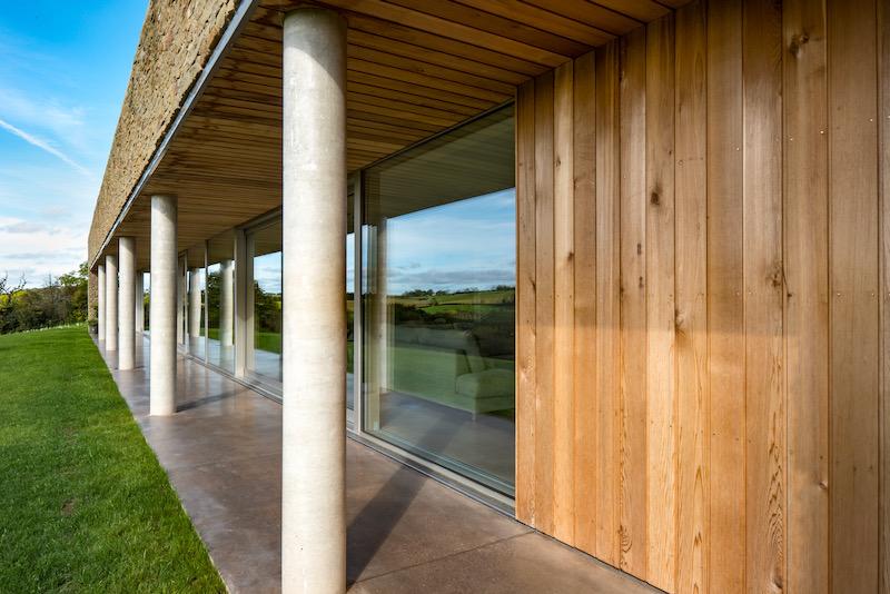 Passivhaus shading overhang