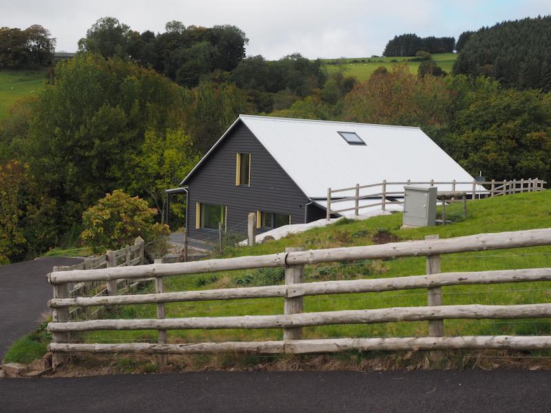 passivhaus tin roof Presteigne